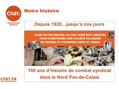 L'histoire de la CFTC-CFDT dans le Nord-Pas de Calais