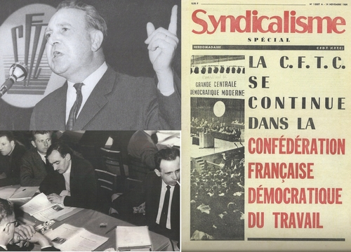 1964 : la CFTC évolue vers la CFDT