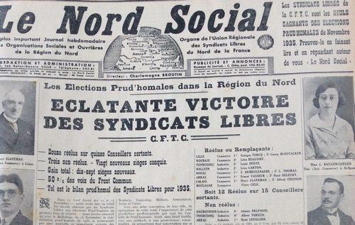 Le Nord Social,le plus grand journal ouvrier du Nord